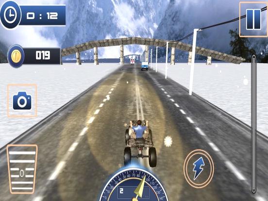 Traffic Quad Bike Rider : End-Less Road Rac-ing 3D screenshot 8