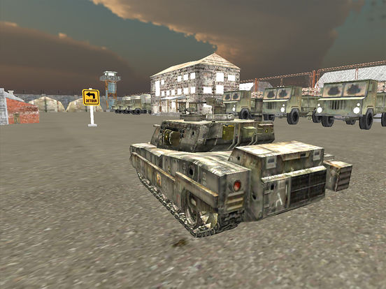 VR Military Tank Parking Driver Army Truck Driving screenshot 9