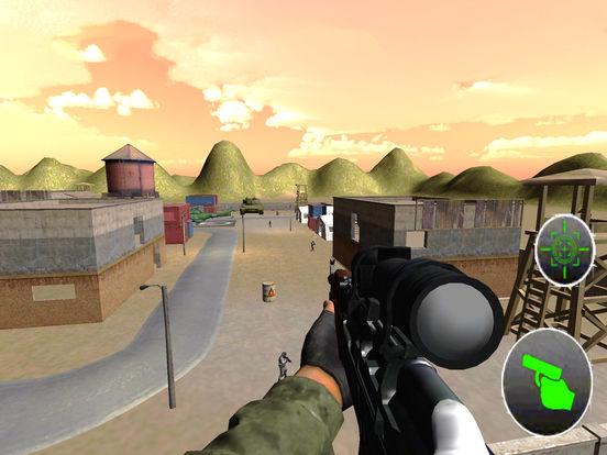 Charlie Heli Sniper Shot : 3D Mobile Kill-er Strik screenshot 6