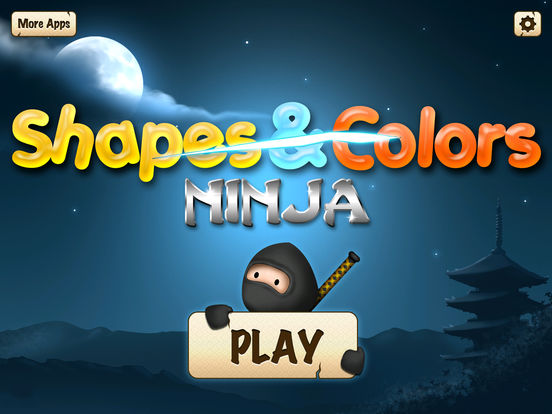 Shapes and Colors - Ninja Slicing Preschool Game screenshot 6