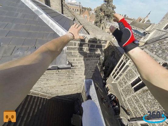 VR Roof Runner Pro with Google Cardboard screenshot 4