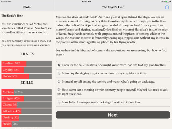 The Eagle's Heir screenshot 9