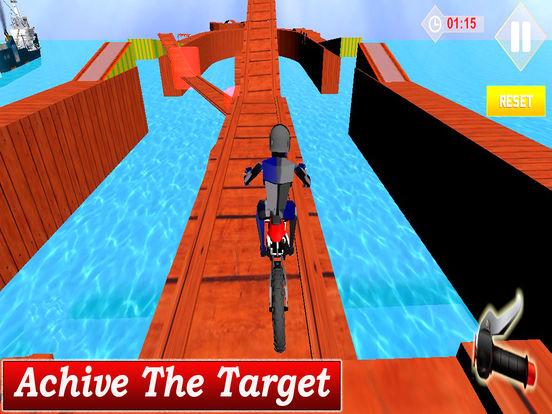 Extreme Stunt Biker : 3D Drift-ing Highway Race-r screenshot 4