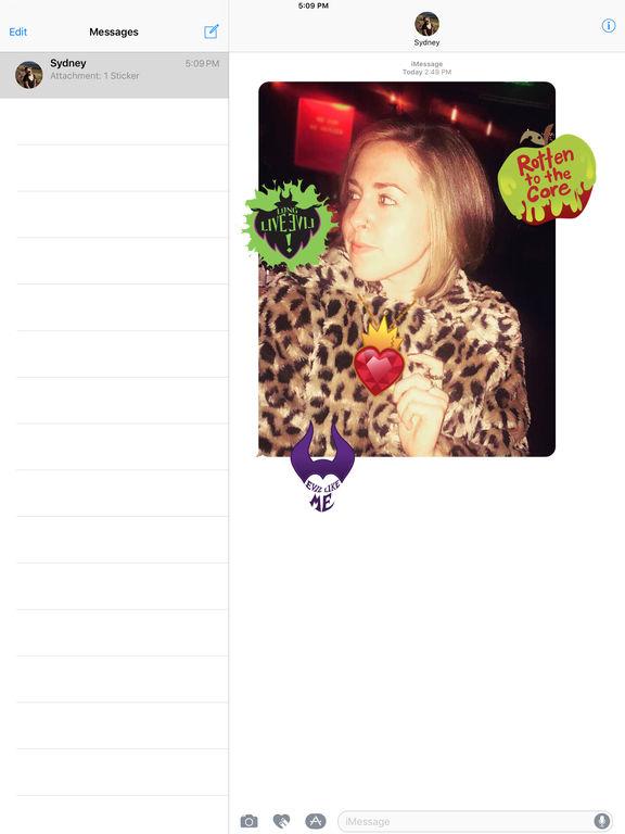 Disney Stickers: Descendants screenshot 9
