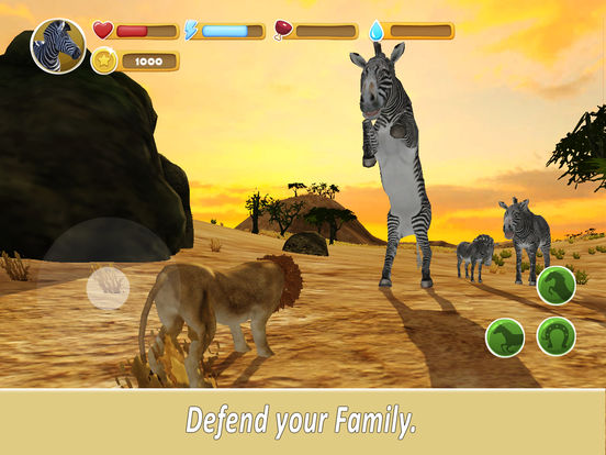 Zebra Family Simulator Full screenshot 7