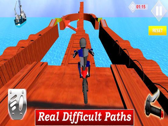 Extreme Stunt Biker : 3D Drift-ing Highway Race-r screenshot 6