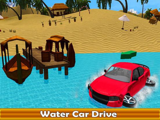 Water Surfing Car Racer screenshot 4