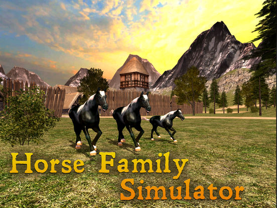 Horse Family Simulator Full screenshot 5
