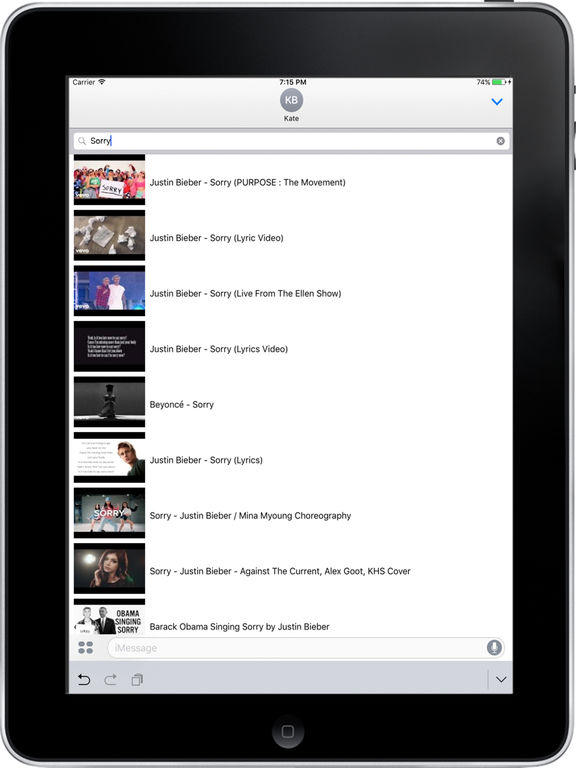 ShareTube for youtube-share videos with friends screenshot 5