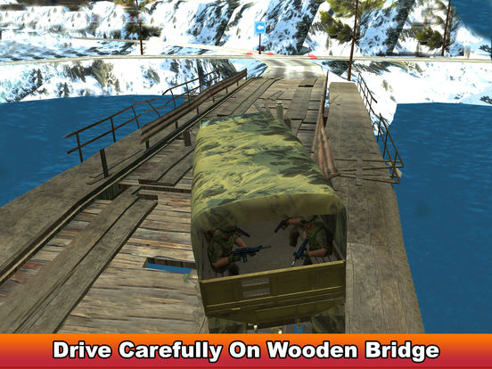 Military Soldier Truck Drive screenshot 7