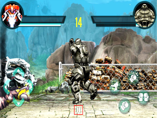Futuristic Robot Boxing : 3D Street Fighter Club screenshot 6