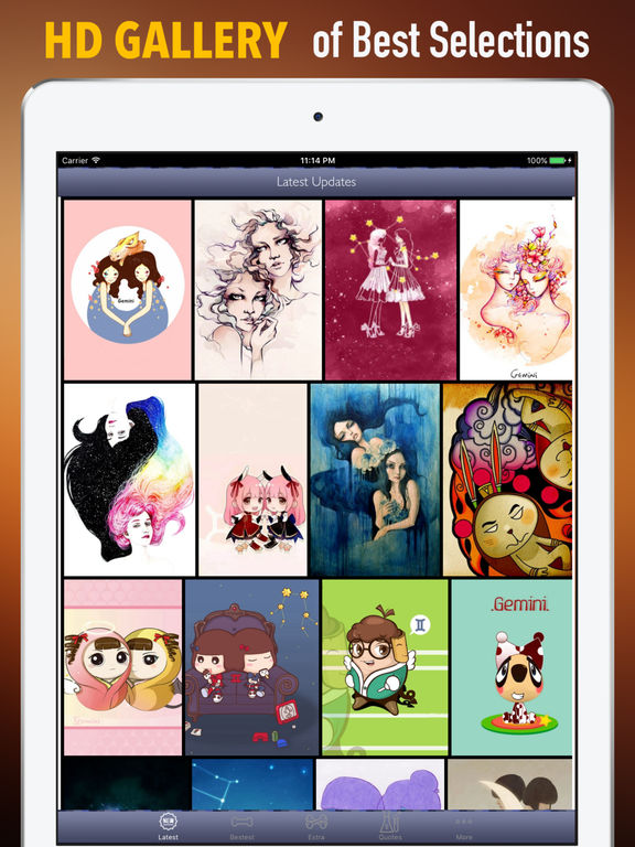 Gemini Wallpapers HD- Quotes and Art Pictures screenshot 6