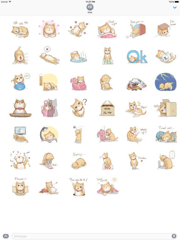 Many A Naughty Cat Stickers screenshot 4