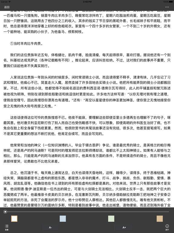 海量经典世界文学名著:免费小说 screenshot 5
