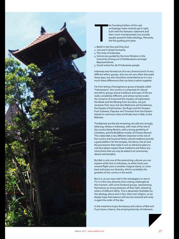 NOW! Bali Magazine screenshot 8