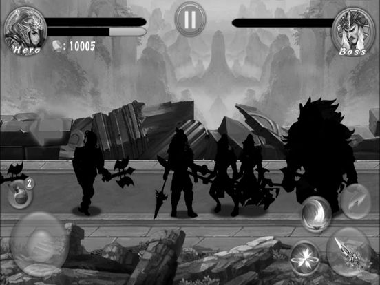 ARPG--Shadow Sword Pro. screenshot 10