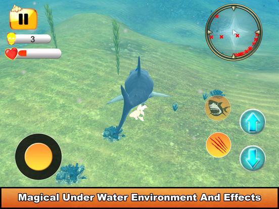 Hungry Shark Simulator : Amazing Fish Attack 2017 screenshot 8