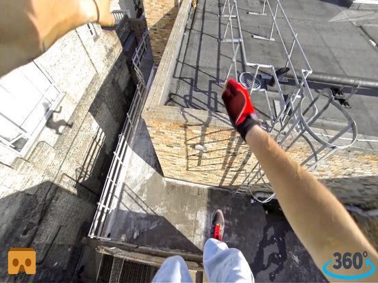 VR Roof Runner Pro with Google Cardboard screenshot 3