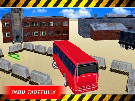 City Bus Parking : 3D Real Sim-ulation Drive-r screenshot 7