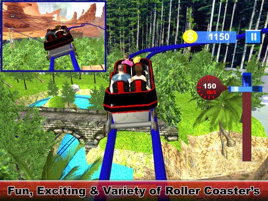 Water-Fall Forest Roller Coaster screenshot 5