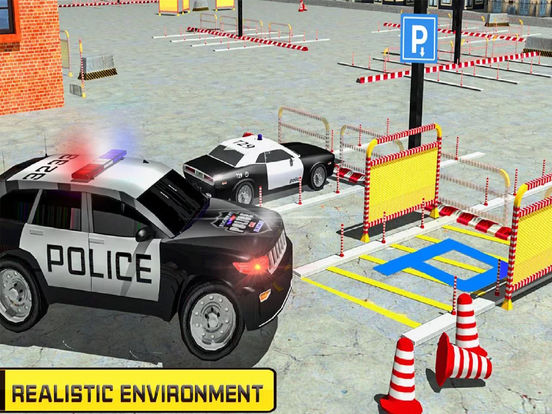 Charismas Police Car Park : Real Stunt Car Drive screenshot 4