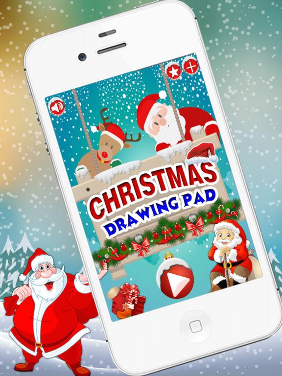 Christmas Drawing Pad - holiday activities for kid screenshot 5
