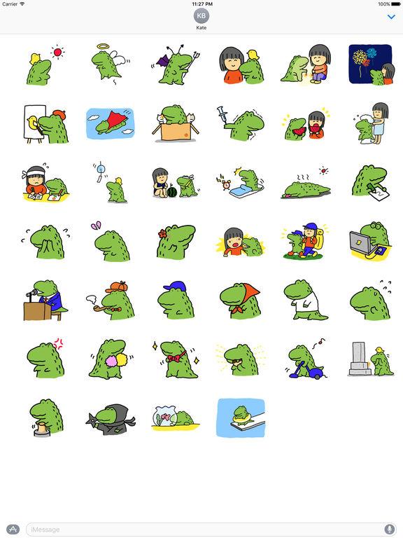 Alligator My Lovely Pet Sticker screenshot 4