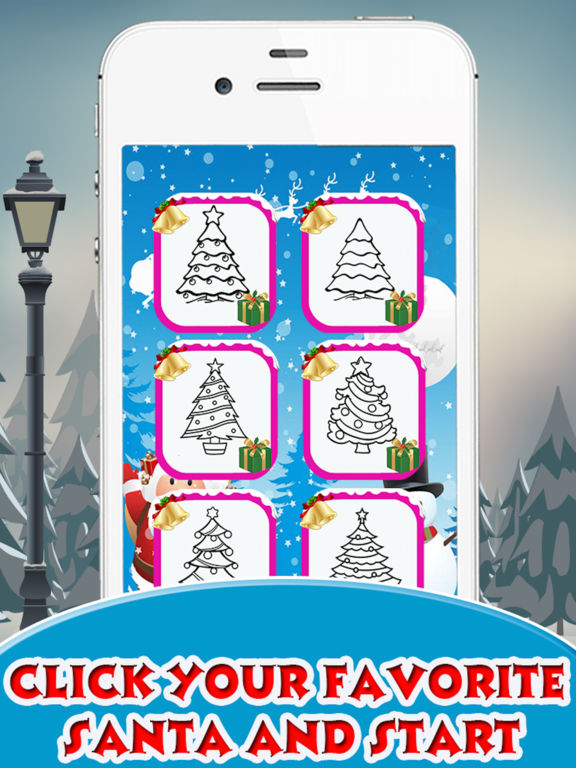 Christmas Tree Coloring book for Toddler & Pre-k screenshot 6
