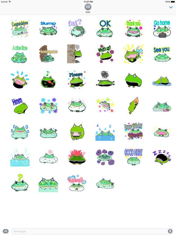 Lucky Frog Sticker screenshot 4