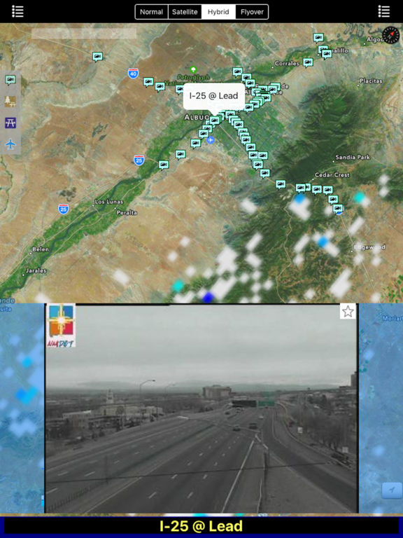 New Mexico NOAA Radar with Traffic Camera Pro screenshot 6