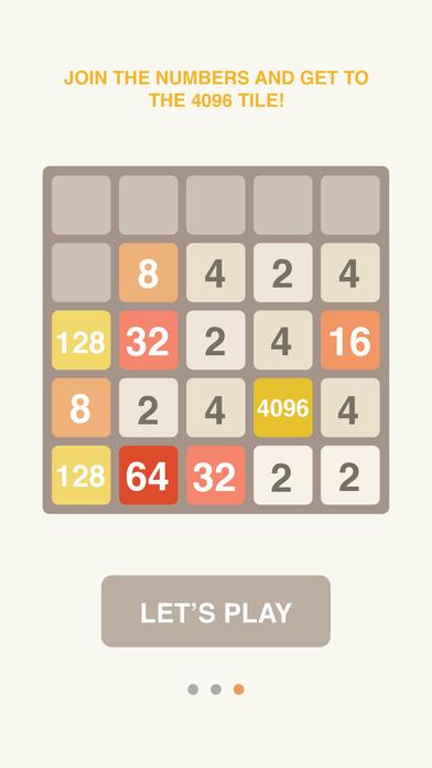 4096 Classic Puzzle! screenshot 2
