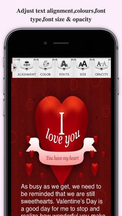 Love Cards Maker - Spread Your Love To All screenshot 4