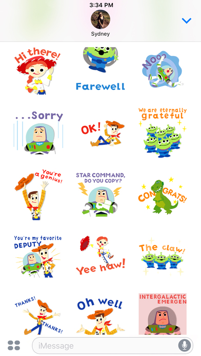 Pixar Stickers: Toy Story screenshot 5