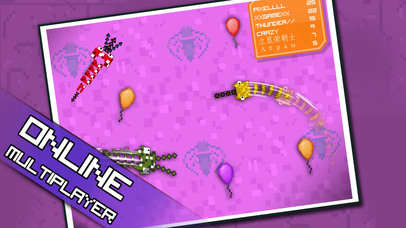 Pixel Sword Fish io screenshot 1
