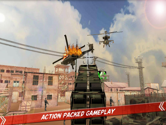 Helicopter Defence Strike - 3d Anti Aircraft Games screenshot 6