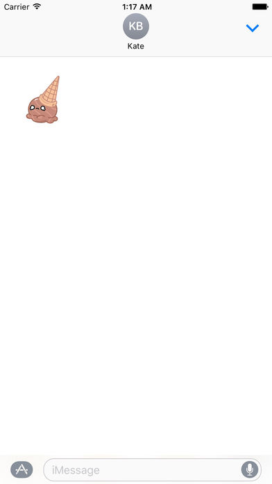 Animated Cool Ice Cream Emoji Stickers screenshot 2