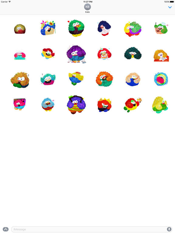 Animated Watercolor Fat Owl Stickers screenshot 3
