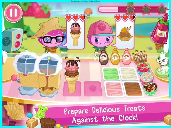 Strawberry Shortcake Ice Cream screenshot 8
