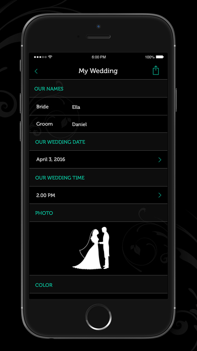 countdown app iphone wedding countdown reminder on the app 2148