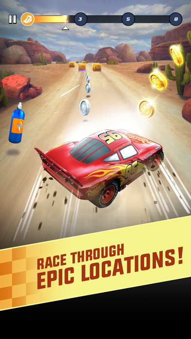 Cars: Lightning League screenshot 1