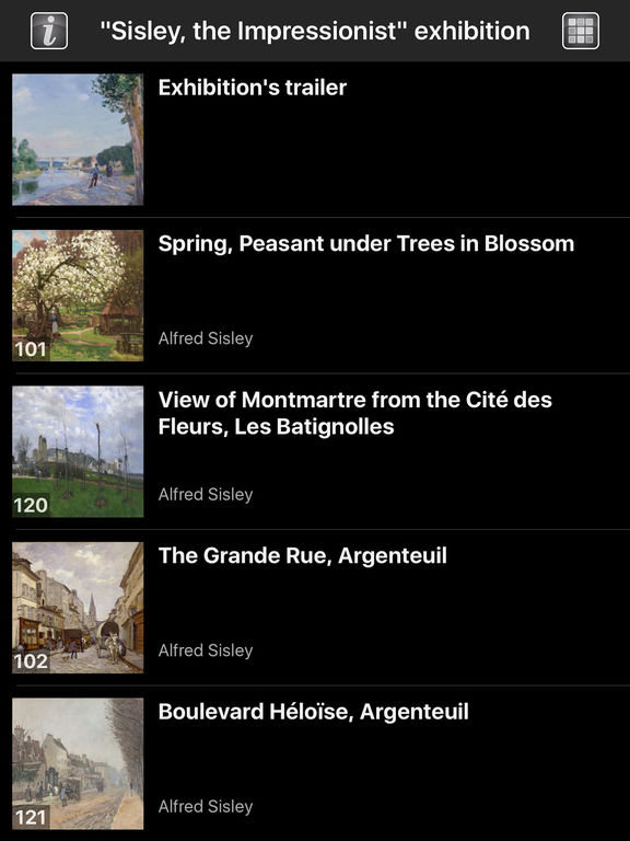 Sisley, the Impressionist screenshot 7