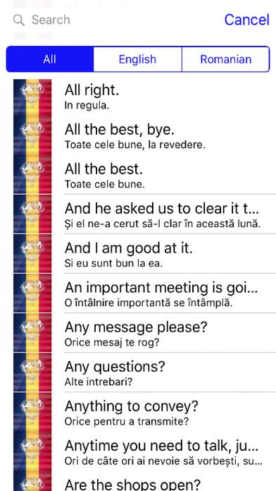 Romanian Phrases Diamond 4K Edition screenshot 1