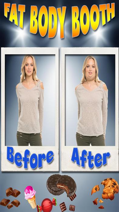 Fat Body Photo FX Booth screenshot 2