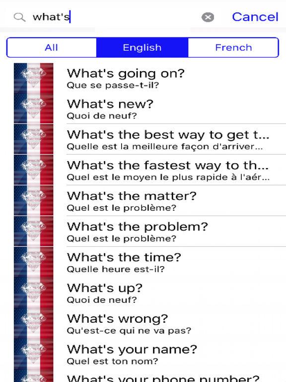 French Phrases Offline screenshot 5