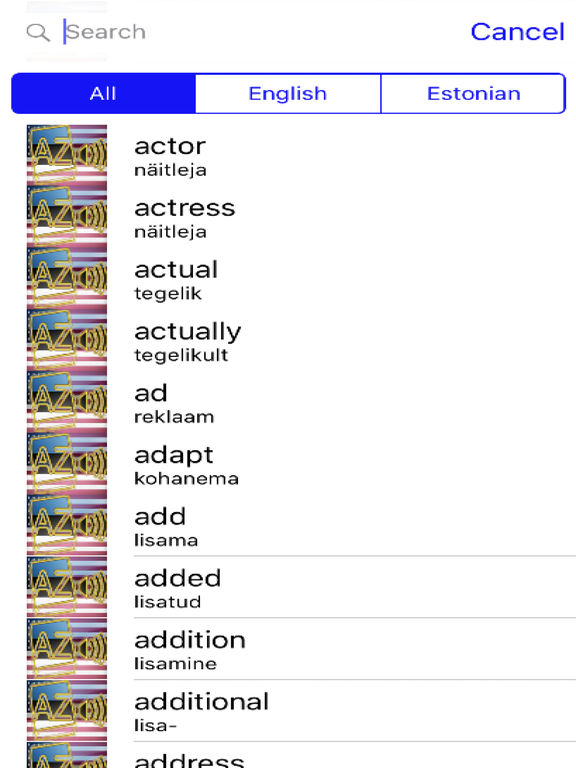 Estonian Dictionary GoldEdition screenshot 7