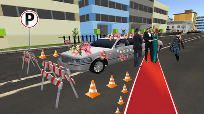 Limo Wedding Transport with Luxurious Parking screenshot 5