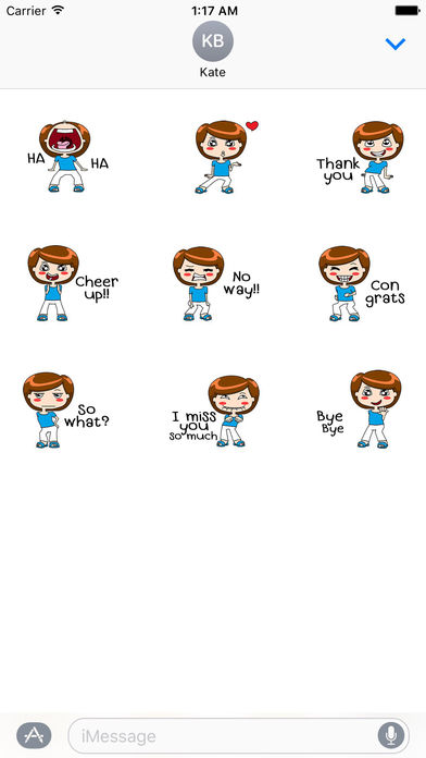 Animated Dancing Mother With Messages Sticker screenshot 2