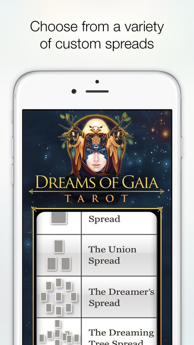 Dreams of Gaia Tarot screenshot 5