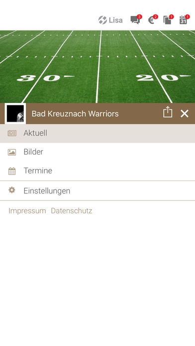 Warriors Bad Kreuznach screenshot 2