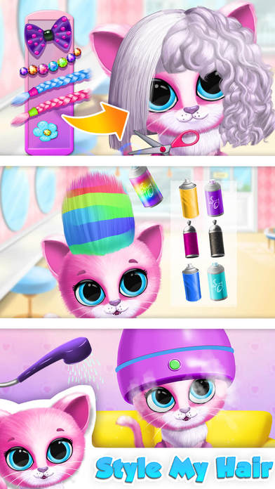 Kiki & Fifi Pet Beauty Salon - No Ads screenshot 2